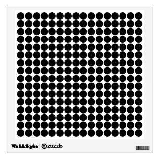 Black Safari Dot Room Decals