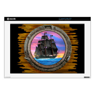 "Black Sails of the 7 Seas Decal For 17"" Laptop"