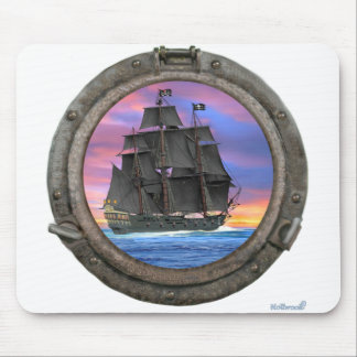 Black Sails of the 7 Seas Mouse Pad