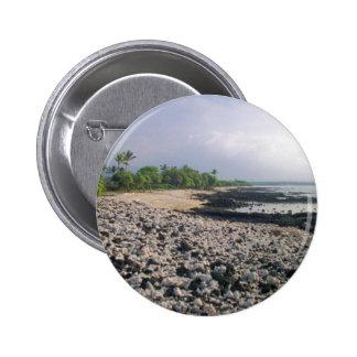 Black Sand Beach in Hawaii Button