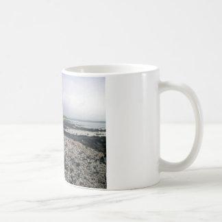 Black Sand Beach in Hawaii Coffee Mug
