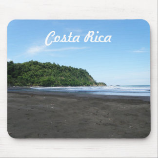 Black Sand Beach Mouse Pad