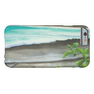 Black Sand Beach on Maui Barely There iPhone 6 Case
