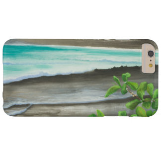 Black Sand Beach on Maui Barely There iPhone 6 Plus Case