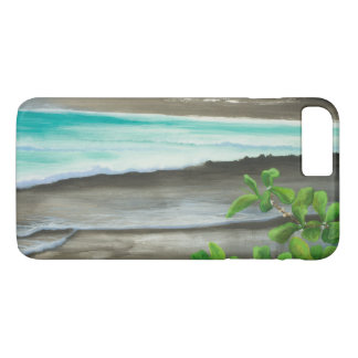 Black Sand Beach on Maui iPhone 7 Plus Case