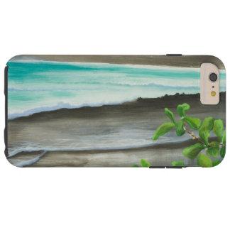 Black Sand Beach on Maui Tough iPhone 6 Plus Case
