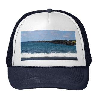 Black Sand Beach Trucker Hat