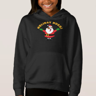 Black Santa Hugs Shirt