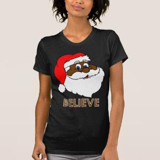 Black Santa Shirt