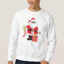 Black Santa Sweatshirt