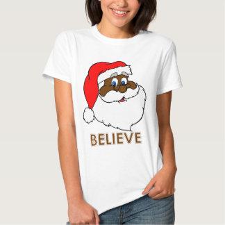 Black Santa Tshirts