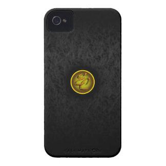 Black Satin Delight iPhone 4 Cover