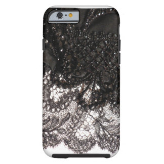 Black Satin & Lace iPhone 6 case! Tough iPhone 6 Case
