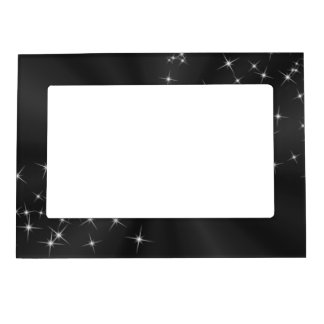 BLACK SATIN MAGNETIC FRAME