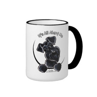Black Schnauzer IAAM Ringer Coffee Mug