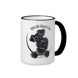Black Schnauzer IAAM Ringer Mug