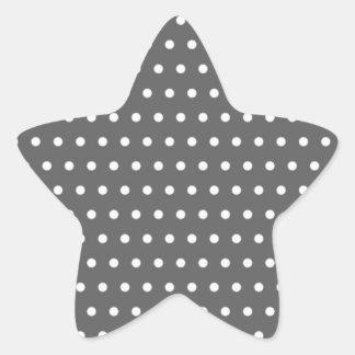 black scores polka dots scored dotted tup star sticker