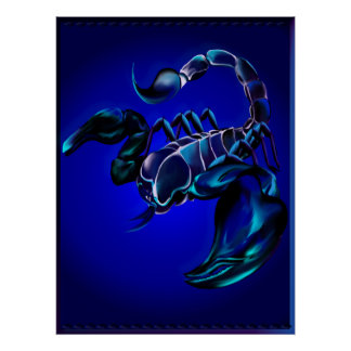 Black Scorpion Posters