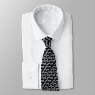 Black Scorpions Tie Armani Grey