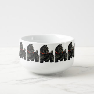 Black Scottie Soup Mug