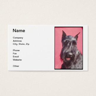 Black Scottish Terrier Business Cards