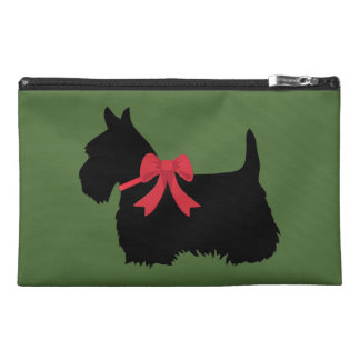 Black Scottish Terrier dog of Scotland Travel Accessory Bags