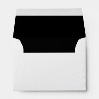 Black script envelopes