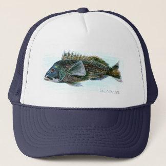 Black Sea Bass Trucker Hat