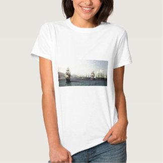 Black Sea Fleet in the Bay of Theodosia T-Shirt