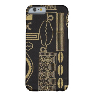 Black Sea Shell Mud Cloth iPhone 6 case