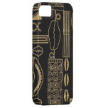 Black Sea Shell Mud Cloth iPhone Case iPhone 5 Cases