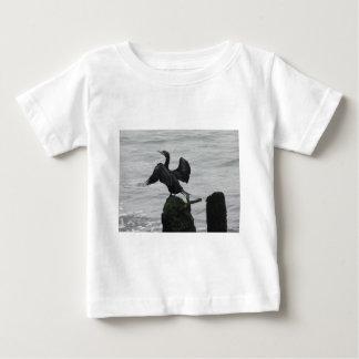 Black Seabird Baby T-Shirt