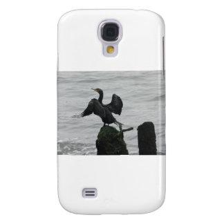 Black Seabird Samsung Galaxy S4 Cases