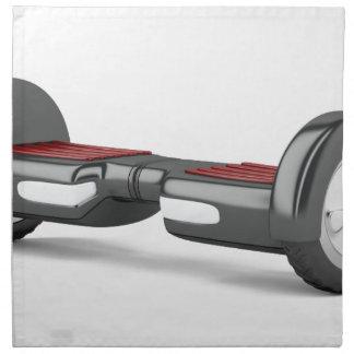 Black self balancing scooter cloth napkin