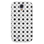 black sequin effect 3G/GS dot light Samsung Galaxy S4 Covers