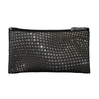 """Black Sequins"" Cosmetic Bag"