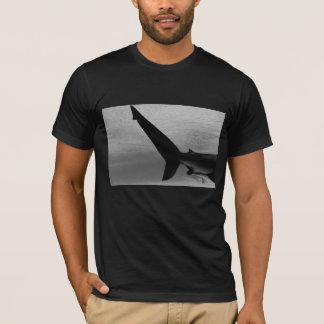 Black Shark Tail mens T-shirt