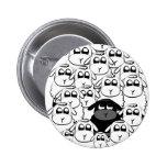 Black sheep 2 inch round button