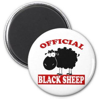 Black Sheep 2 Inch Round Magnet