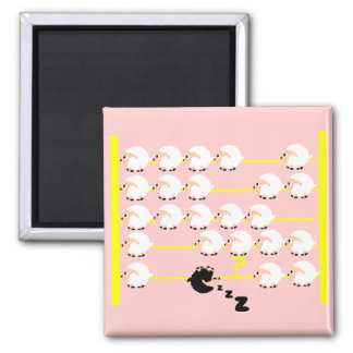 black sheep 2 inch square magnet