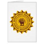 Black Sheep Ancestor Celebration Society Greeting Card