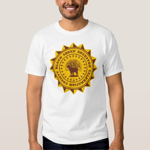 Black Sheep Ancestor Celebration Society T-Shirt