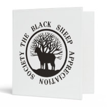 Black Sheep Appreciation Society Binder