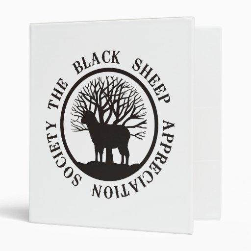 Black Sheep Appreciation Society Vinyl Binders