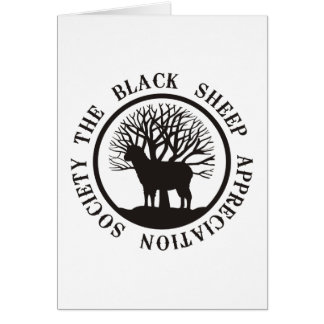 Black Sheep Appreciation Society Card