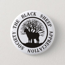 Black Sheep Appreciation Society Pinback Button