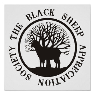 Black Sheep Appreciation Society Poster