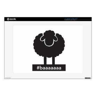 Black Sheep #baaaaa Laptop Decal