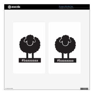Black Sheep #baaaaa Skin For Kindle Fire