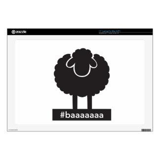 """Black Sheep #baaaaa Skins For 17"""" Laptops"""